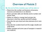 Overview of Module 2