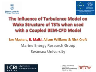 The Influence of Turbulence Model on Wake Structure of TSTs when used with a Coupled BEM-CFD Model
