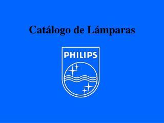 Cat logo de L mparas