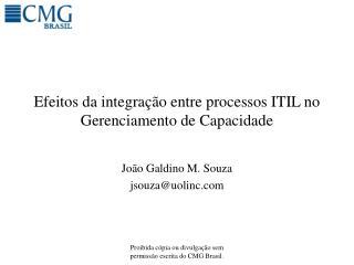 Efeitos da integra  o entre processos ITIL no Gerenciamento de Capacidade