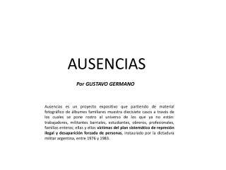 Por GUSTAVO GERMANO