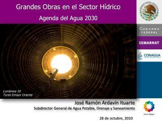 Grandes Obras en el Sector H drico   Agenda del Agua 2030