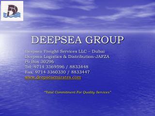 DEEPSEA GROUP