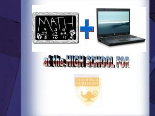 The use of technology in mathematics