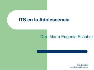 ITS en la Adolescencia