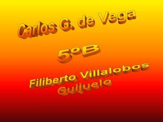 Carlos G. de Vega