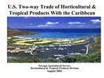 U.S. Two-way Trade of Horticultural  Tropical Products With the Caribbean