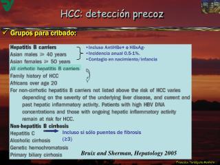 HCC: detecci n precoz