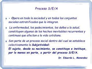 Proceso S