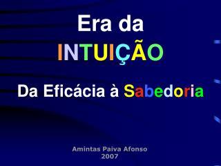 Amintas Paiva Afonso 2007