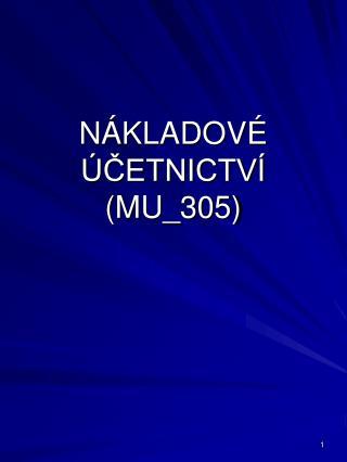 N KLADOV   CETNICTV  MU_305
