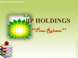 BP ETABLERER FØRSTE FIRE ÅR £4 .5MILLION UK UNDERGRADUATE ST