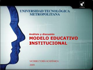 An lisis y discusi n   MODELO EDUCATIVO INSTITUCIONAL