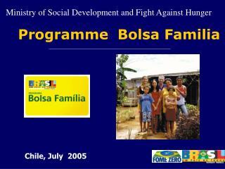 Programme  Bolsa Familia