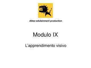 Modulo IX
