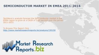 Semiconductor Market in EMEA 2011-2015