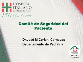 Comit  de Seguridad del Paciente