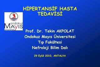 HIPERTANSIF HASTA TEDAVISI