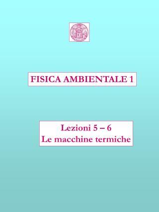 FISICA AMBIENTALE 1
