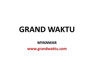 Berita dari Myanmar. - Bisnis di Myanmar