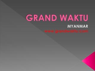 Investasi di Myanmar. - Pendaftaran bisnis di Myanmar