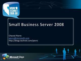 Small Business Server 2008