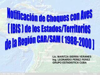 Notificaci n de Choques con Aves  IBIS  de los Estados
