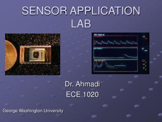 SENSOR APPLICATION  LAB