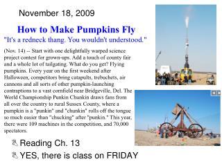 November 18, 2009