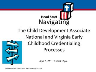 Navigating The Child Development Associate National and Virginia Early Childhood Credentialing Processes