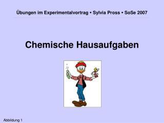 Chemische Hausaufgaben