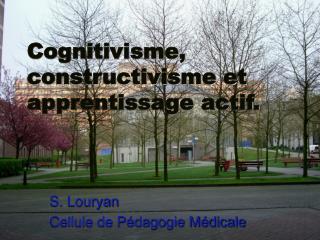 S. Louryan Cellule de P dagogie M dicale