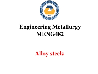 ALLOY STEELS