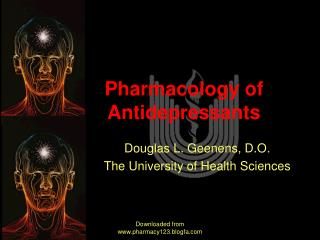 Pharmacology of Antidepressants