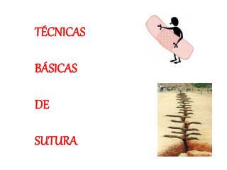 T CNICAS   B SICAS  DE  SUTURA