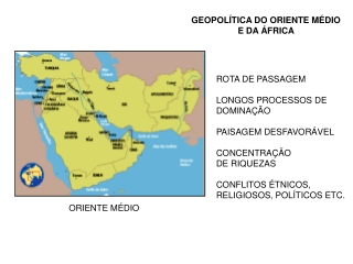 Aula Geopol??tica da ??frica e Oriente M??dio