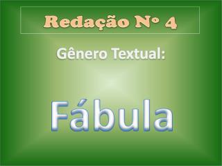 G nero Textual: