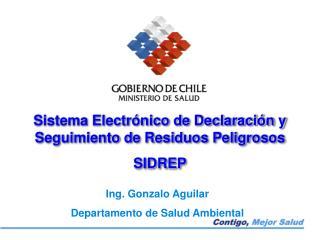 Sistema Electr nico de Declaraci n y Seguimiento de Residuos Peligrosos SIDREP