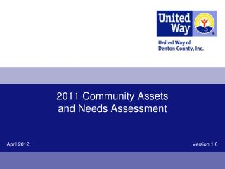 2011 Community Assets and Needs Assessment