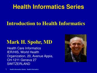 Health Informatics Series