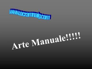 Arte Manuale