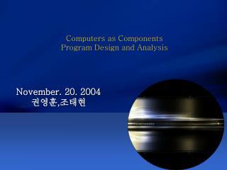 November. 20. 2004 ,