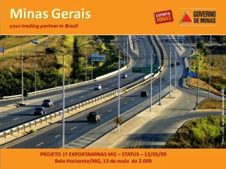 PROJETO 1  EXPORTAMINAS MG   STATUS   13