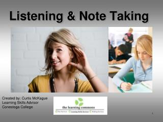 Listening  Note Taking