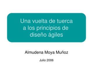 Almudena Moya Mu oz