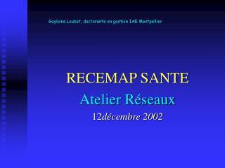 Guylaine Loubet, doctorante en gestion IAE Montpellier