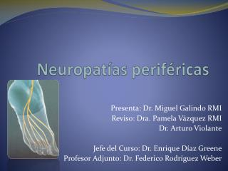 Neuropat as perif ricas