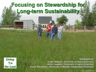 Focusing on Stewardship for  Long-term Sustainability