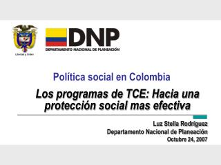 Pol tica social en Colombia