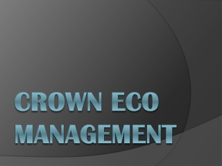 crown capital eco management jakarta indonesia: what we do/o